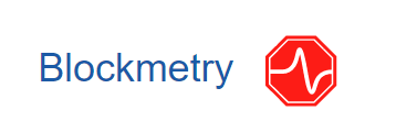 Blockmetry logo