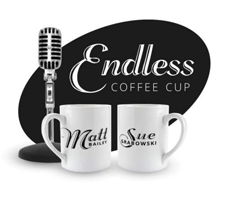 Logo for Endless Coffee Cup Podcast