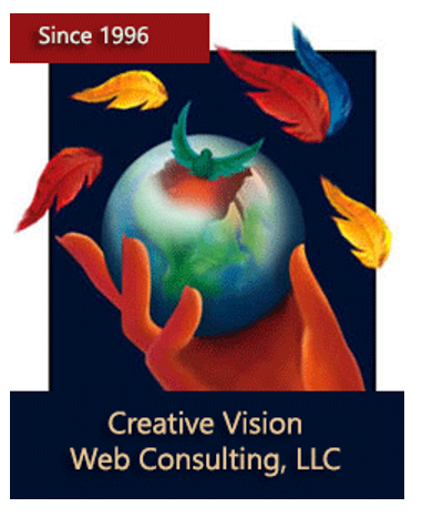 Creative Vision Web Consulting Logo